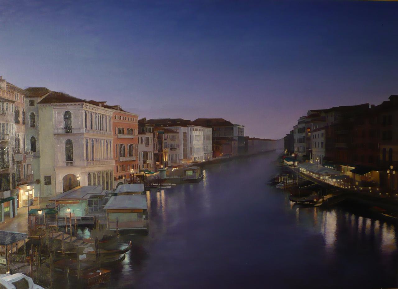 Вольшой канал Венеции